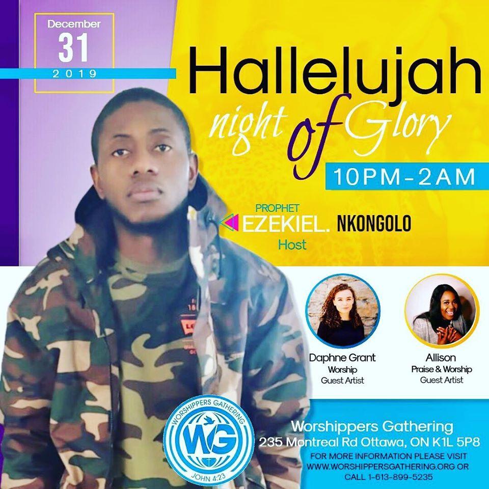 Hallelujah Night of Glory