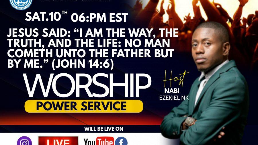 Worship Service encounter